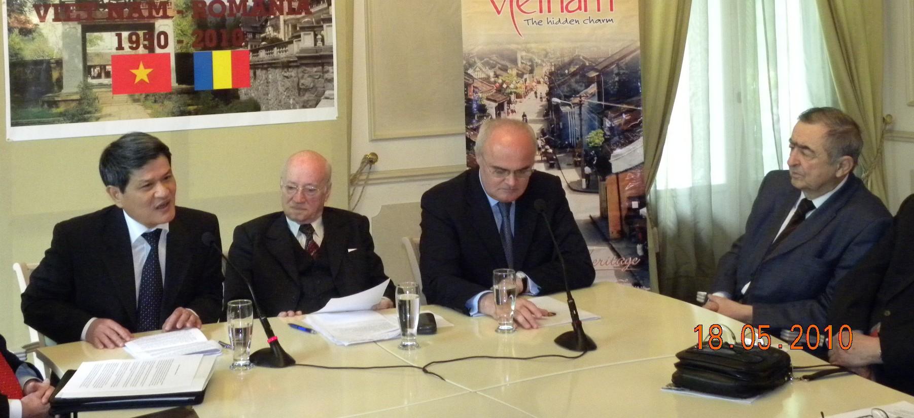 60 de ani de la stabilirea relaţiilor diplomatice dintre România şi Vietnam şi 55 de ani de la deschiderea de oficii diplomatice la Bucureşti şi Hanoi