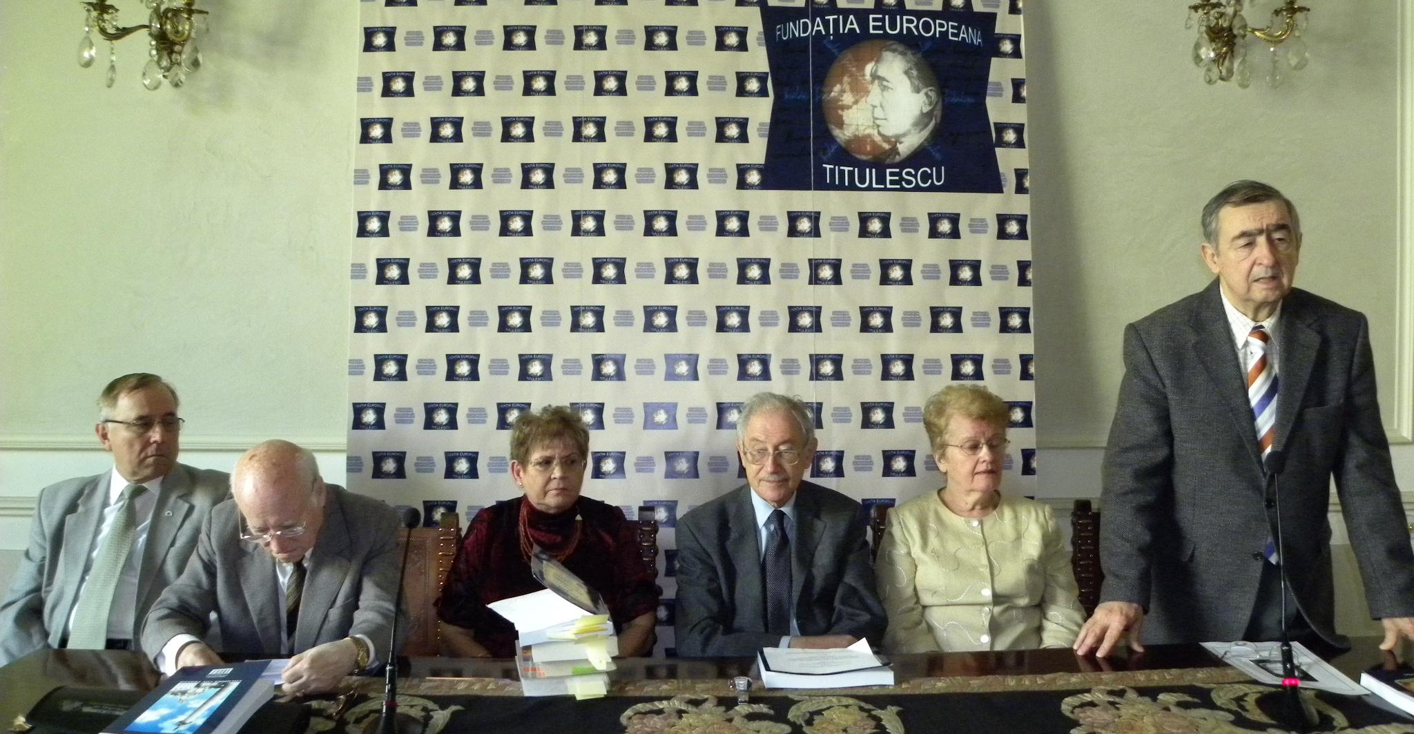 """Lansarea volumului """"Pagini din diplomaţia României"""", vol. II"""