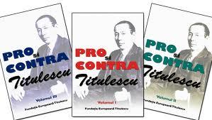 """Lansarea lucrării """"Pro şi contra Titulescu"""", de George G. Potra, la FET"""