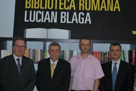 "Inaugurarea bibliotecii ""Lucian Blaga"", Madrid"