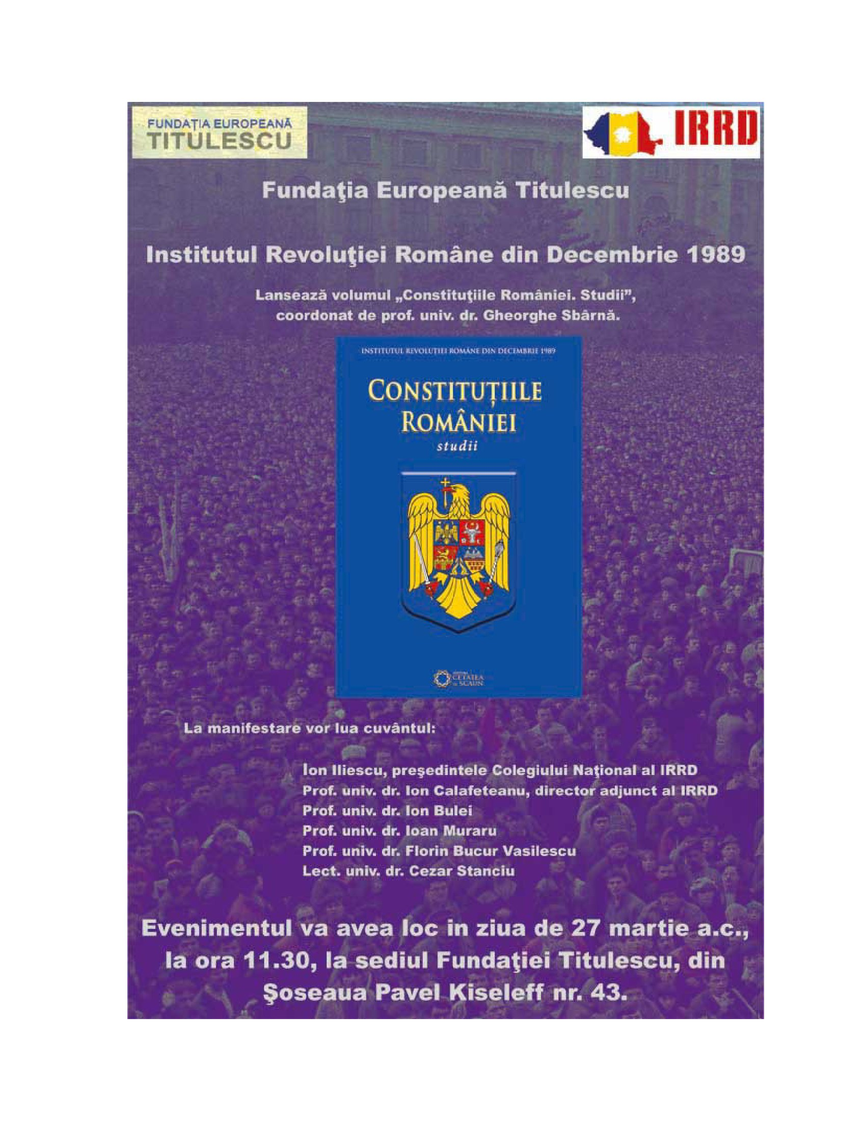 Constituțiile României