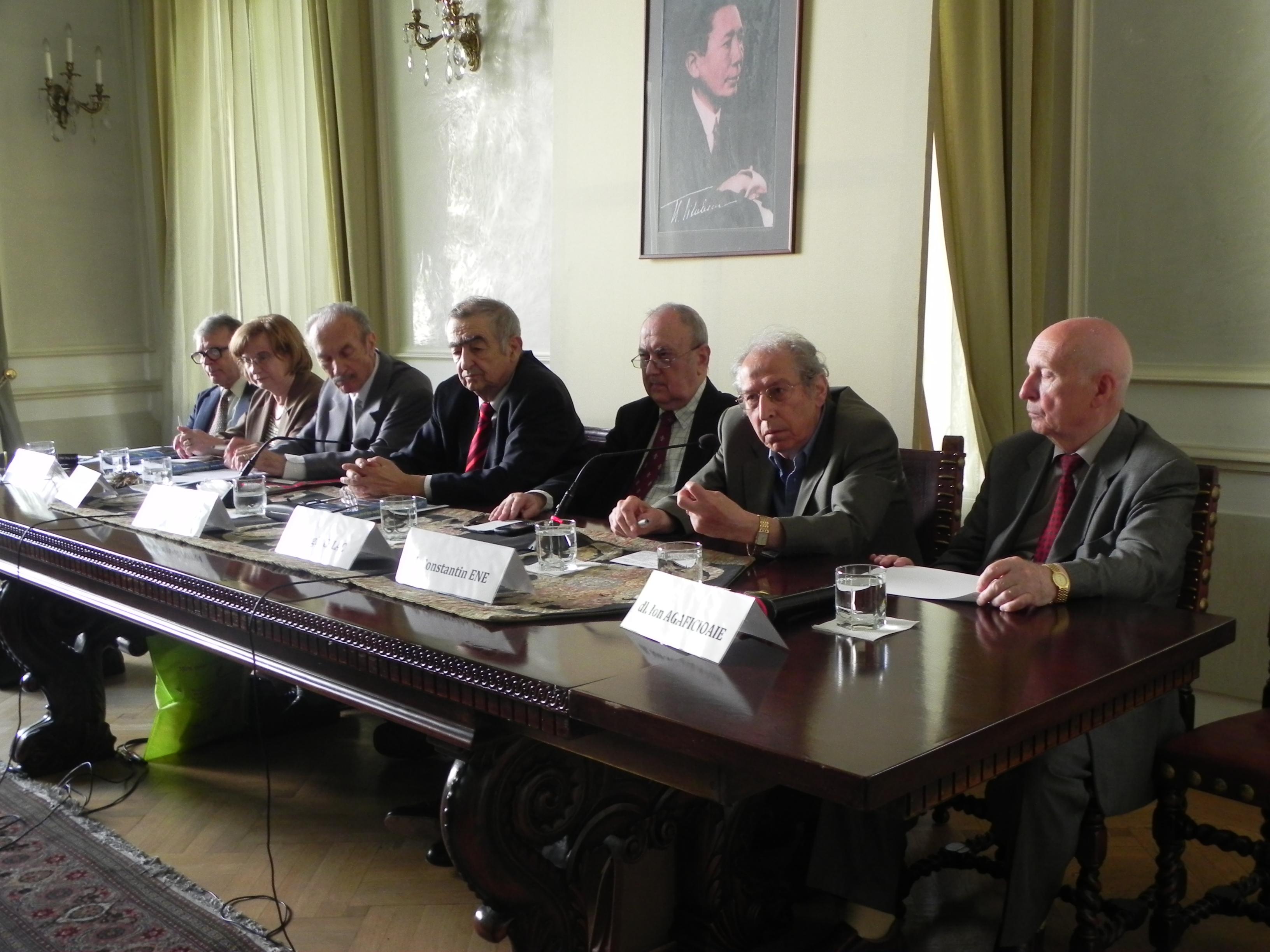 """Lansarea volumului """"Memoriile unui diplomat român pe toate continentele"""""""