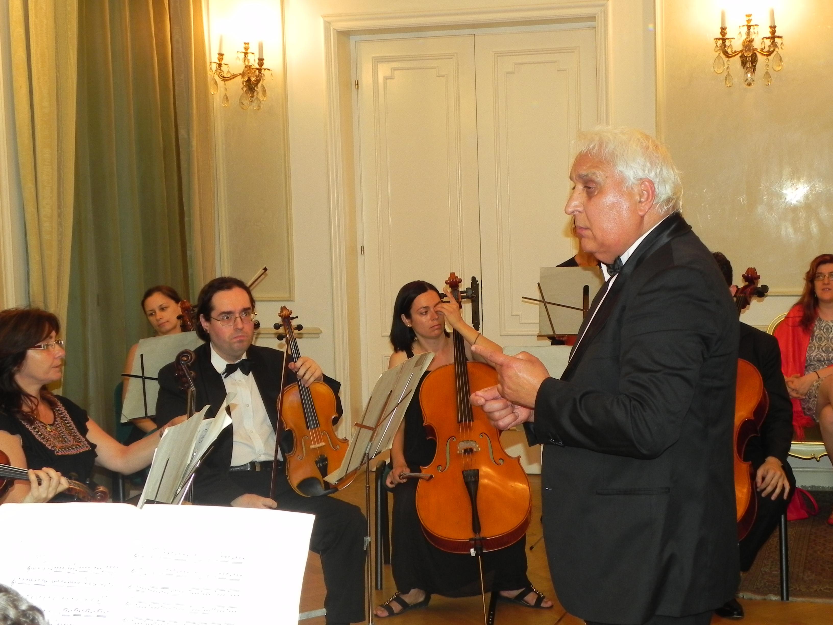 """Concertul  Orchestrei de Cameră """"Philarmonia"""""""