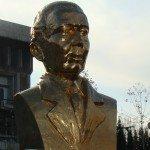Dezvelirea bustului lui Nicolae Titulescu la Slatina