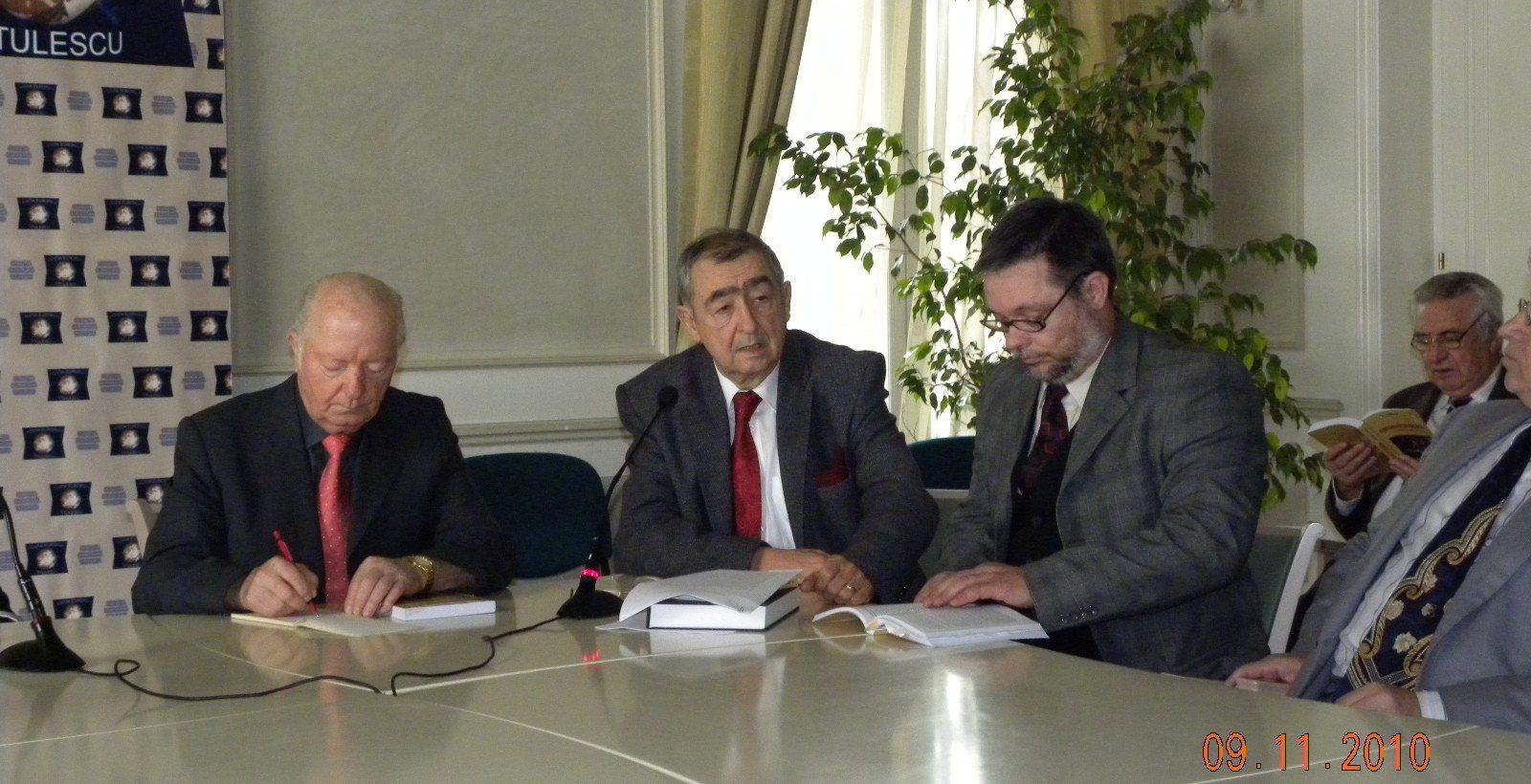 """Lansarea lucrării ,,Gheorghe Tătărescu. Lumini şi umbre"""" de Romus Dima"""