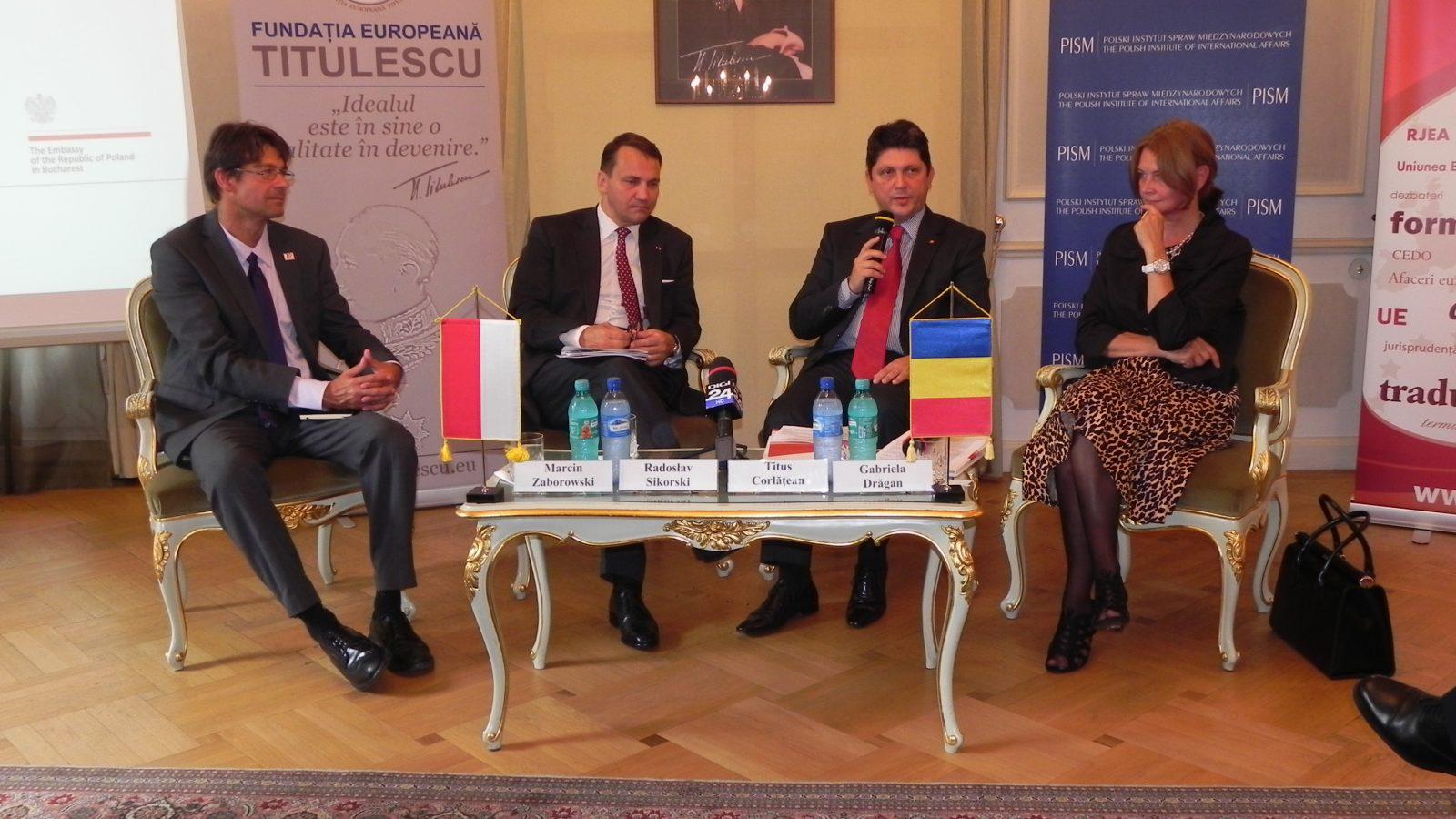 "Casa Titulescu, gazdă a Conferinţei cu tema ""Romanian-Polish Strategic Partnership: Sharing Mutual Visions"""