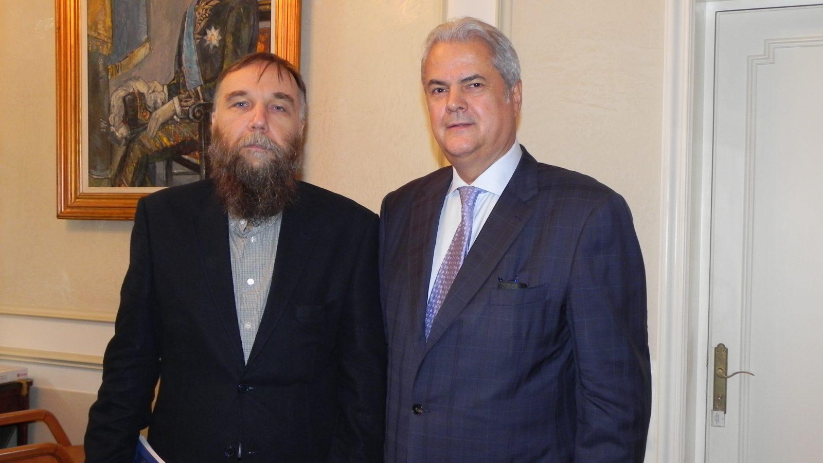 Fondatorul Mişcării Eurasia, la Fundaţia Europeană Titulescu