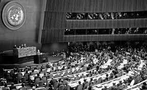 46 de ani de la alegerea lui Corneliu Mănescu în funcţia de preşedinte al celei de-a XXII-a sesiuni a Adunării Generale a ONU
