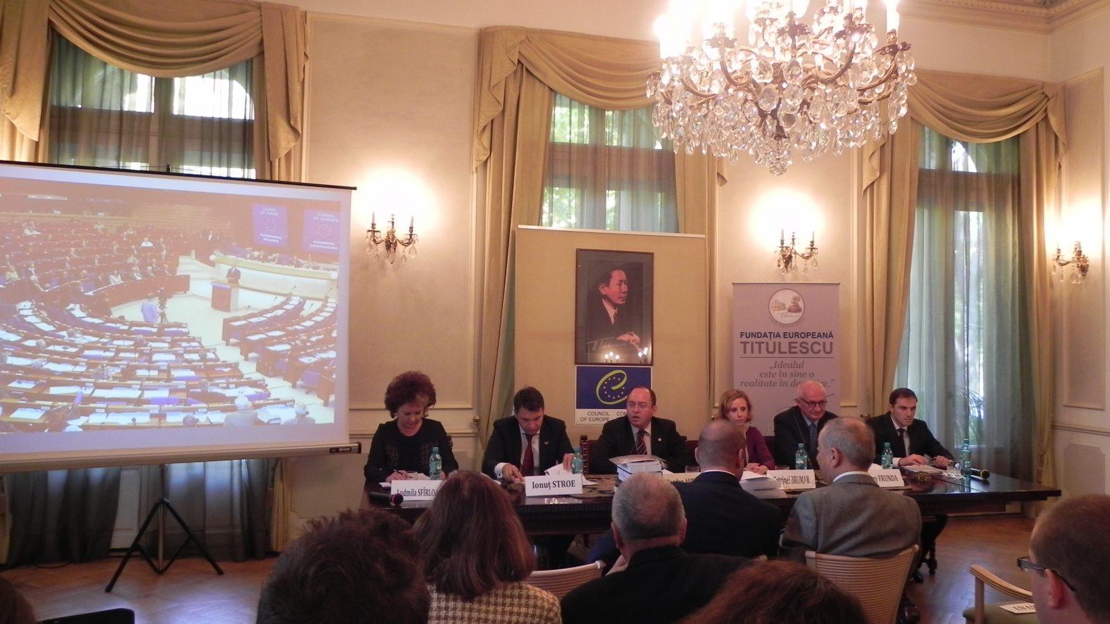 România la Consiliul Europei – trecut și perspective