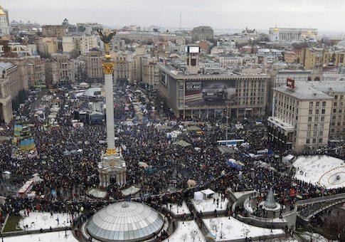Ucraina ajunsă la punctul de fierbere