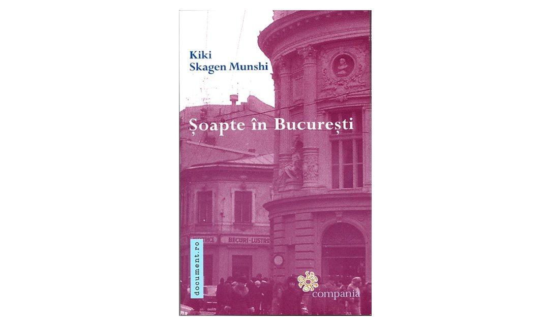 """""""Şoapte în Bucureşti/ Whisper in Bucharest"""" – Kiki Skagen Munshi îşi lansează cel mai recent roman la Casa Titulescu"""