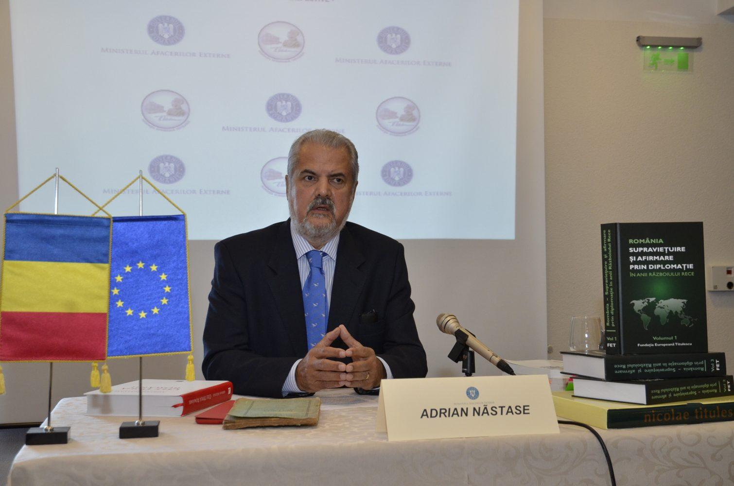 """Președintele FET la ediţia 2014 a Cursurilor internaționale """"Nicolae Titulescu"""""""
