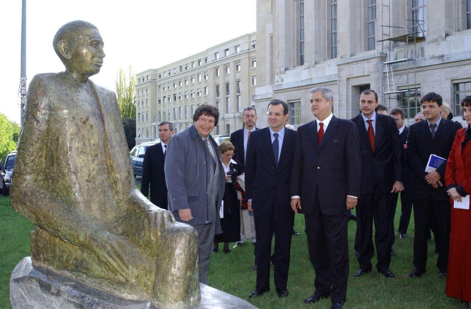 Expoziție Nicolae Titulescu la Palatul Națiunilor din Geneva