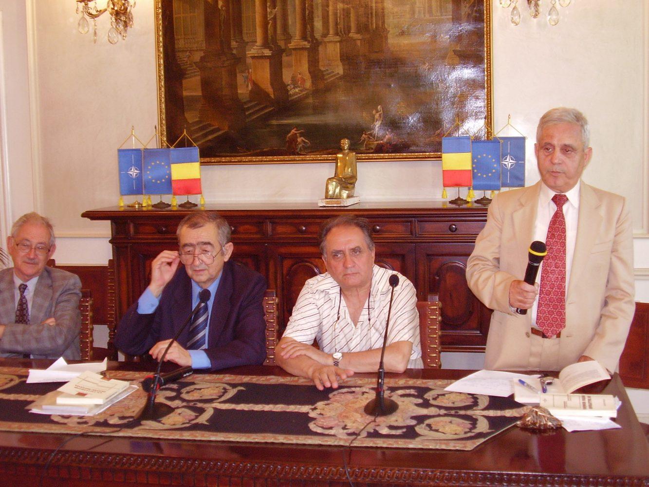 """Lansarea volumului """"Un Talleyrand pentru România. Trecut imperfect. Prezent obsedant"""""""