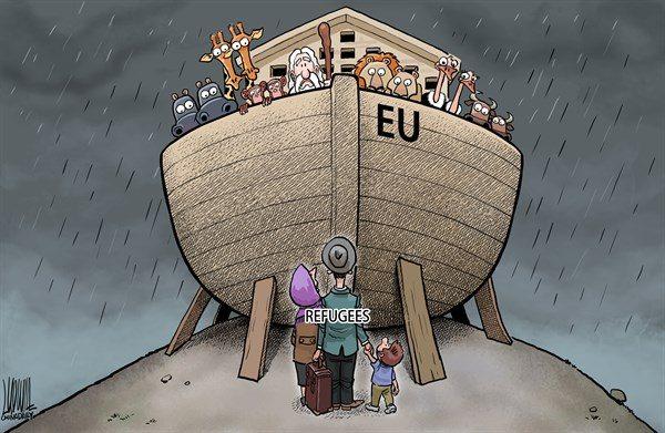 Europa – noua Arcă a lui Noe. Refugiați sau imigranți?