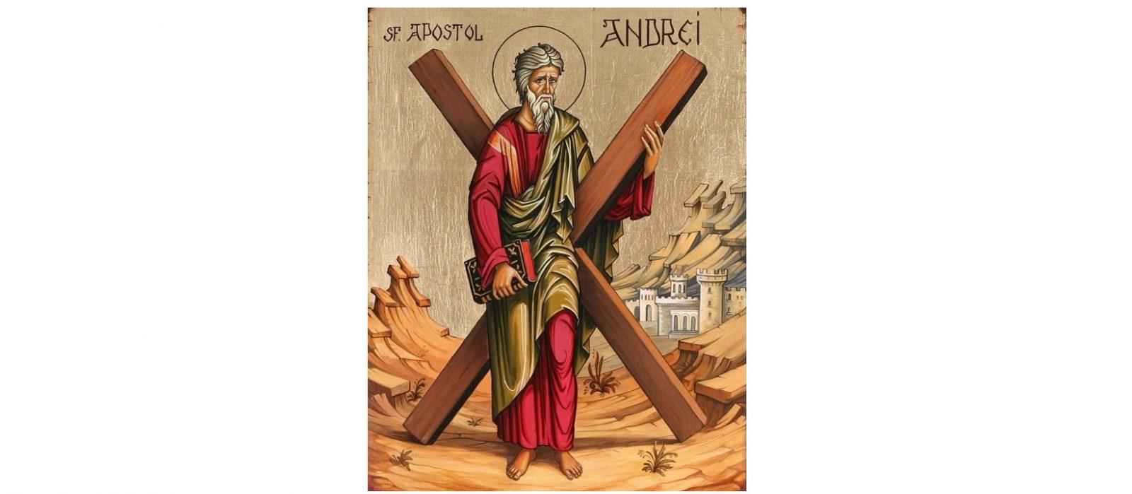 La mulți ani celor ce poartă numele Sfântului Apostol Andrei!