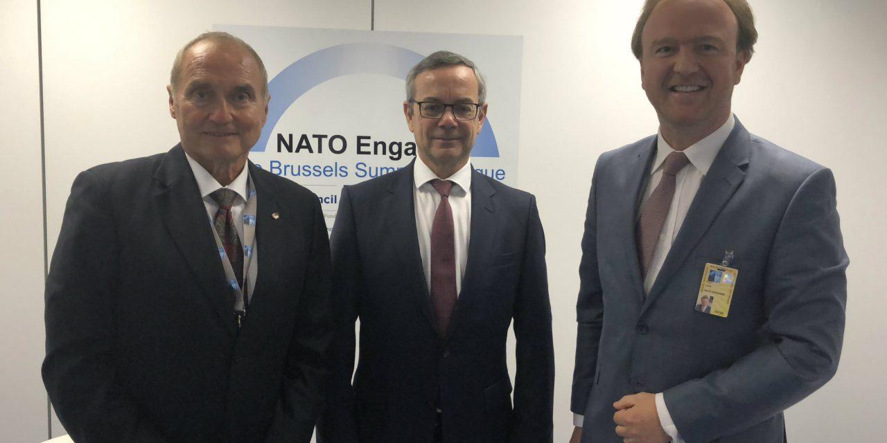 """""""Cum s-a decis la Summit-ul NATO de la Bruxelles adaptarea la o nouă lume si ce are de facut România"""""""