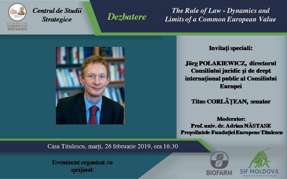 The Rule of Law – Dynamics and Limits of a Common European Value