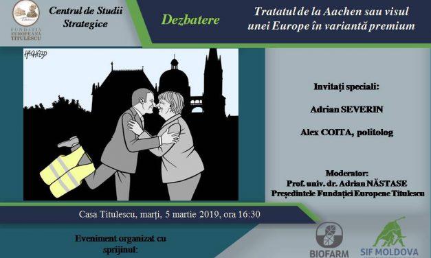 Tratatul de la Aachen sau visul unei Europe în variantă premium