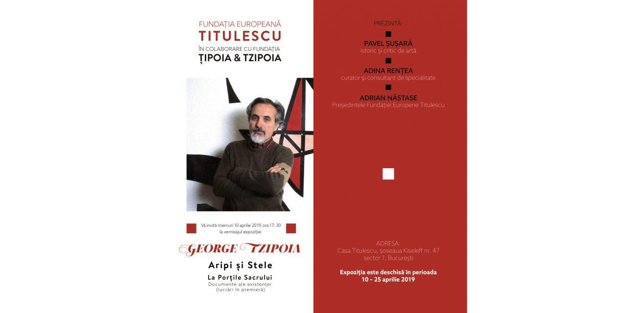 Vernisajul expoziției George Tzipoia