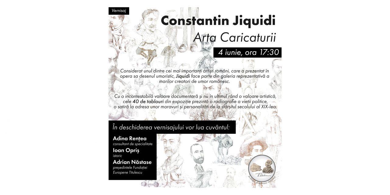 Constantin Jiquidi. Arta Caricaturii