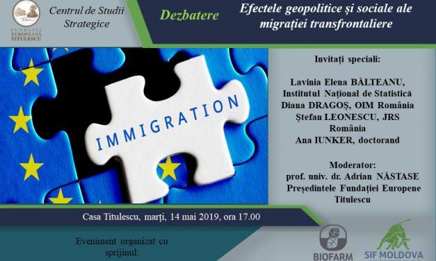 Efectele geopolitice și sociale ale migrației transfrontaliere