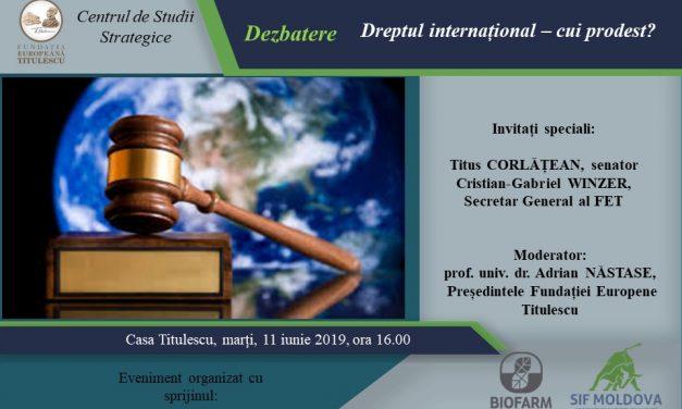 Dreptul internațional – cui prodest?