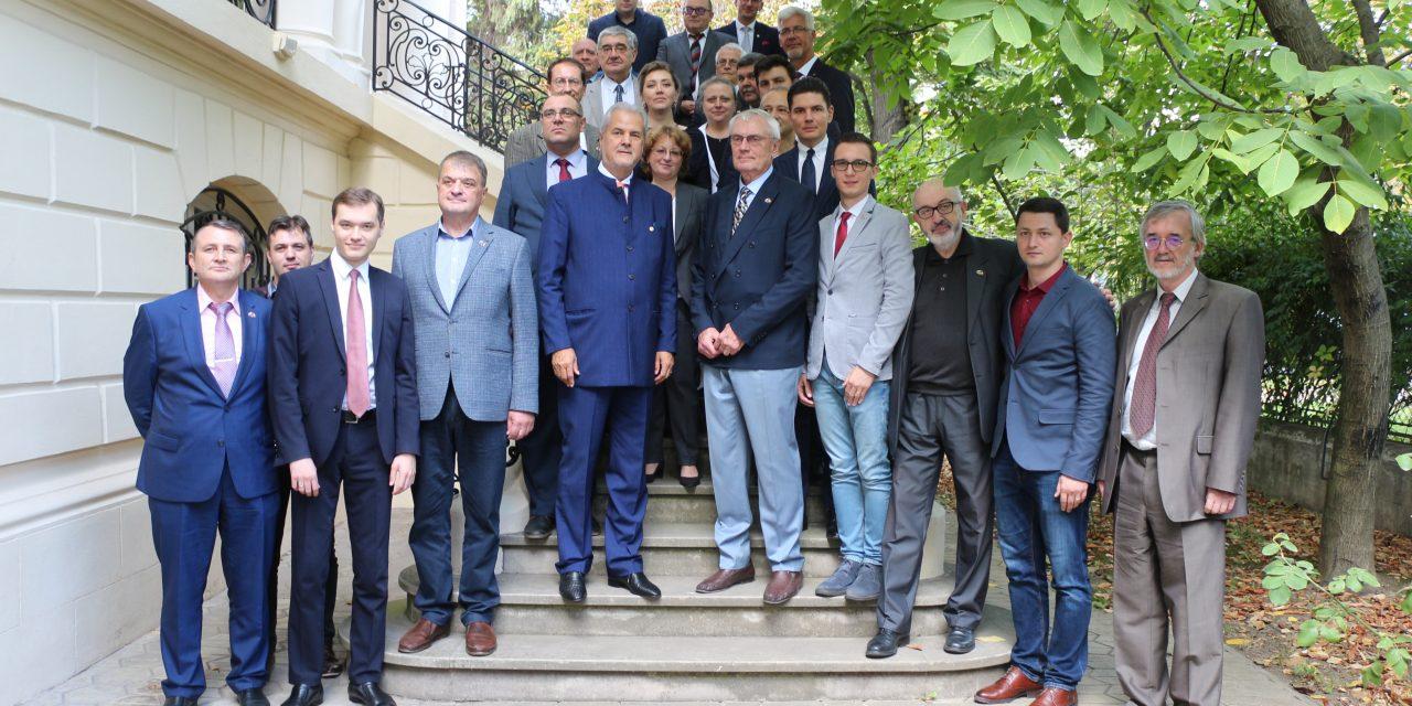 """Conferința """"Cea de-a 85 aniversare a semnării tratatului din 1934 privind reluarea relațiilor diplomatice dintre România și Uniunea Sovietică"""""""
