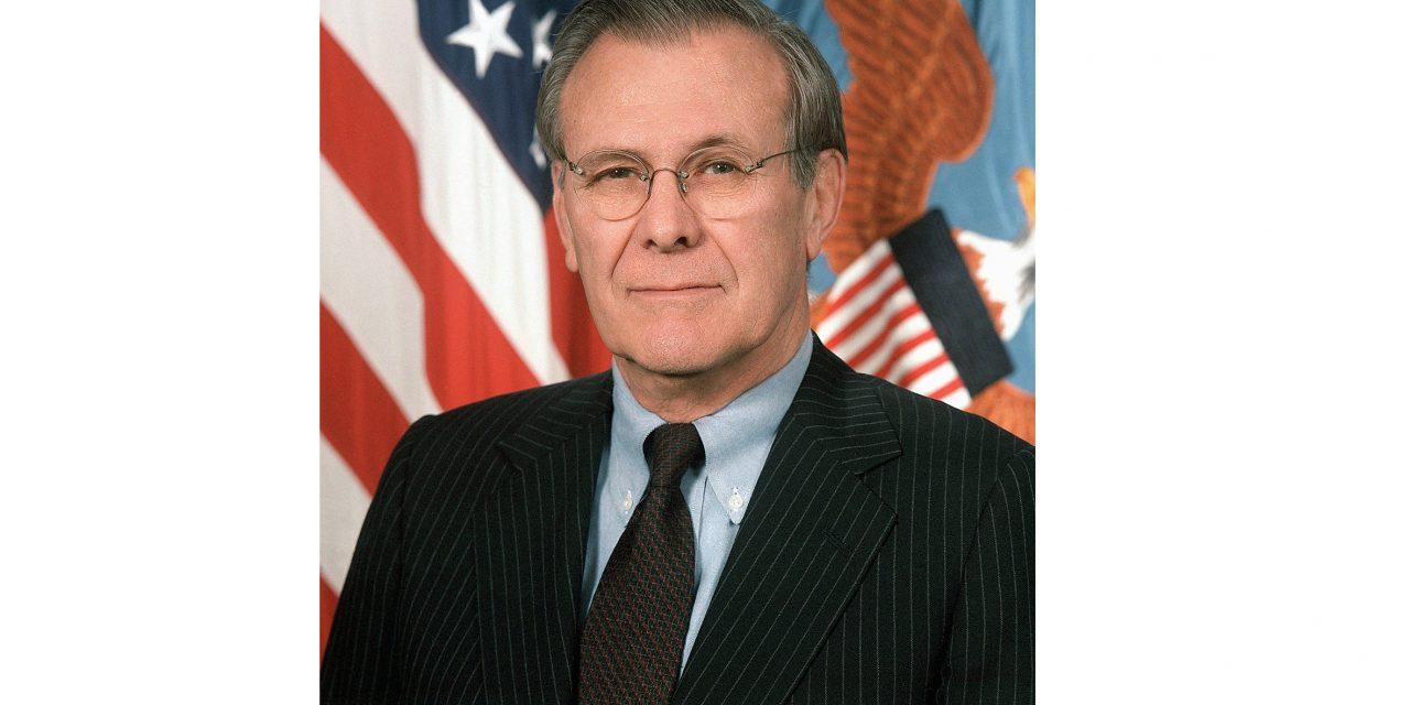 """Tableta de istorie – """"Notele lui Donald Rumsfeld"""""""