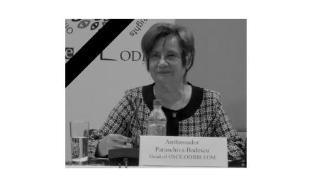 A murit Paraschiva BĂDESCU